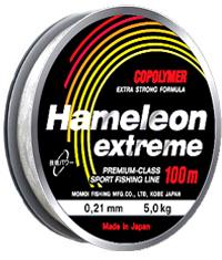 Леска Hameleon Extreme 0,28 мм, 8,5 кг, 100 м, прозрачная