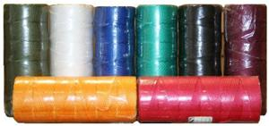 Шнур плетеный Универсал длина 1000 м, на бобине, диаметр 2,5 мм,  красный