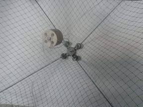 Зонт-Хапуга Универсальная (зима-лето) 1,5х1,5 м, ячея полотна 16 мм, косынок 35 мм.
