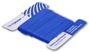 Шнур плетеный Стандарт длина 50м, на карточке, диаметр 1,2 мм, Синий