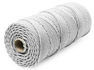 Шнур плетеный Стандарт длина 500 м,на бобине, диаметр 1,5 мм, белый