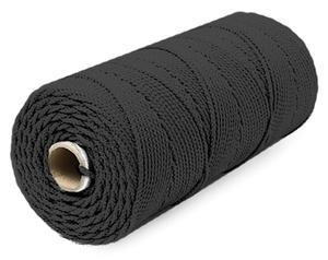 Шнур плетеный Стандарт длина 500м, на бобине, диаметр 2,5 мм, черный