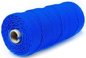 Шнур плетеный Стандарт длина 500м, на бобине, диаметр 2,5 мм, синий