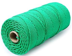 Шнур плетеный Стандарт длина 500м, на бобине, диаметр 1,8 мм, зеленый