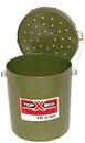 Ведро для наживки TOP BOX FB-0,50L, оливковое, 0,5 л.