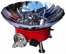 Портативная газовая плита-трансформер малая (460гр, веерная защита пламени, пьезоподжиг)