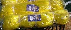Сетеполотно PELICAN леска 0,30 мм, h-75 ячей (10,5м), L-150м, желтое, ячея - 70 мм
