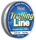 Леска Trolling Line, длина 150 м, диаметр 0,25 мм, прозрачная