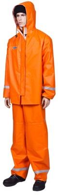 Костюм рыболовный водонепроницвемый РОКОН оранжевый из ПВХ, р. 52-54, рост 170-176 см.