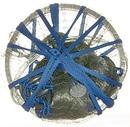 """Сеть кастинговая лесковая """"Kippik"""", с малым КОЛЬЦОМ, ячейка 16 мм, диаметр купола - 2,4 м"""