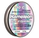 Леска зимняя Hameleon ICE 0,10 мм, серебро, 30 м.