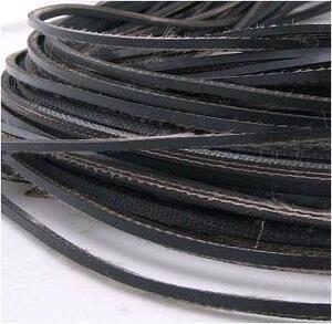 Шнур утяжеляющий (резинотканная транспортерная лента) 4х5 мм, вес 18 г/м - 93 м.