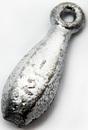 Грузило Торпеда с ушком, 14 гр.