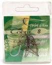 Крючок COBRA, серия BAITHULDER, никель, размер № 8 - 10 шт.
