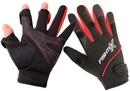 Перчатки Fishtex зимние рыболовные с тремя открытыми пальцами, неопреновые цвет черный