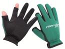 Перчатки Fishtex зимние рыболовные с двумя открытыми пальцами, неопреновые цвет зеленый
