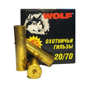 Гильза латунная Tulammo 70 мм, 20 калибр, 25 шт.