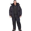 """Зимний костюм для рыбалки """"Буран Норд"""" Черный"""