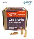 Пуля БПЗ .243 Win FMJ-5.5 оболочечная латунь, 50 шт.