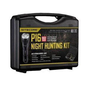 Комплект охотничий в кейсе Nitecore P16 Tac Hunting Kit