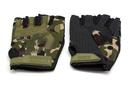 Перчатки тактические Adventure укороченные прорезиненные Камуфляж