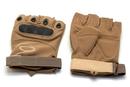 Перчатки тактические укороченные Oval Койот, размер L, XL, XXL