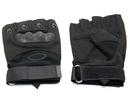 Перчатки тактические укороченные Oval Черные, размер L, XL, XXL