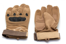 Перчатки тактические Oval Койот, размер L, XL, XXL