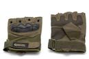 Перчатки тактические Gongtex укороченные Хаки, размер L-XL, XL-XXL