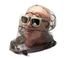Накомарник очки Очкимарник Polarized поляризационные линзы коричневые 23%