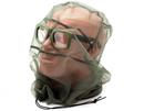 Накомарник очки Очкимарник Polarized поляризационные линзы прозрачные 89%
