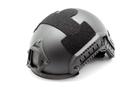 Шлем-каска тактическая nHelmet NH 01101, цвет черный