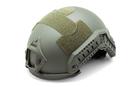 Шлем-каска тактическая nHelmet NH 01101, цвет хаки