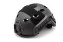Шлем-каска тактическая вентилируемый nHelmet NH 01102, цвет черный