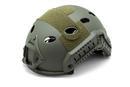 Шлем-каска тактическая вентилируемый nHelmet NH 01102, цвет хаки