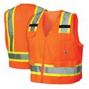 Жилет светоотражающий RVZ2410L, цвет оранжевый, размер M
