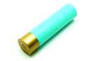 Портативное зарядное устройство Power bank Патрон серо-голубой
