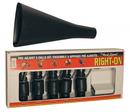 Набор манков на Лося - 5 манков с рупором Buck Expert RIGHT-ON 69RO-FKIT пластик, черный