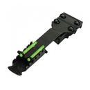 Целик оптоволоконный HiViz Double Dot Rear Sight, Узкий TS2002, Маленький