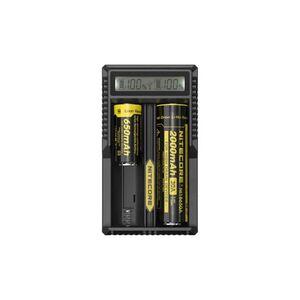 Универсальное зарядное устройство Nitecore UM20 2 канала