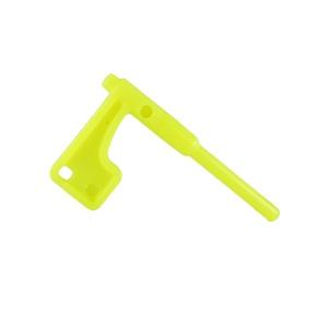 Флажок безопасности для карабинов, желтый