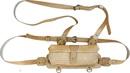 "Сумка ХСН на 16 патронов с подвесной системой,  ""люкс"" светло-золотая кожа - калибр 12"
