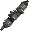 Пояс тактический МОЛЛЕ 3-х рядный в комплекте, размер 46-52