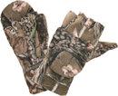 Варежки перчатки Лес из флиса