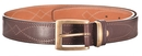Ремень ХСН брючный 35 см, элита - коричневая кожа (арт. 362)