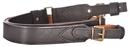 Ремень ХСН автоматный (АКМ), ширина 35 мм, люкс черная кожа с велюром (арт. 321-3)