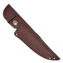 Ножны ХСН европейские, элита коричневая кожа, длина клинка 13 см. (арт. 6257)