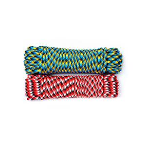 Шнур плетеный АКВА СПОРТ диаметр 8 мм, тест 800 кг, длина 20 м, евромоток