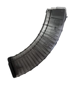 Магазин Pufgun для карабина Сайга-МК калибра 7,62x39, 40 мест, прозрачный