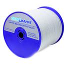 Фал плетеный ТАЙФУН белый, диаметр 8 мм, тест 1100 кг, длина 200 м, бобина